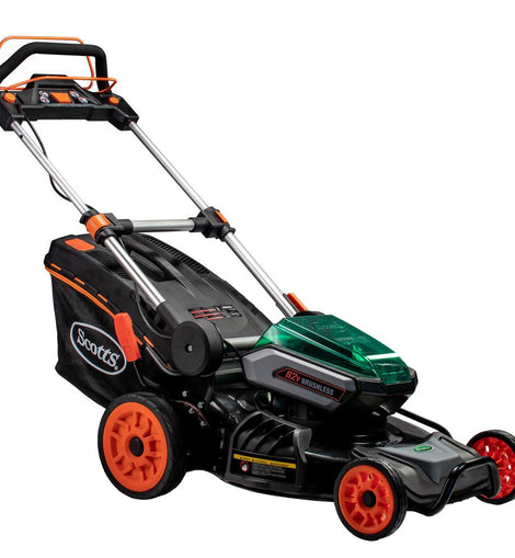 21 in. 62-Volt Lithium-Ion Cordless Self-Propelled Walk Behind Mower with 4 Ah and 2.5 Ah Battery and Charger Included