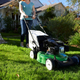 21 in. Rear-Wheel Drive Gas Walk Behind Self Propelled Lawn Mower with Kohler Engine