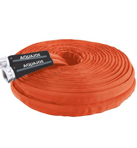AQUA JOE 3/4 in. Dia x 75 ft. FiberJacket Contractor Grade Hose