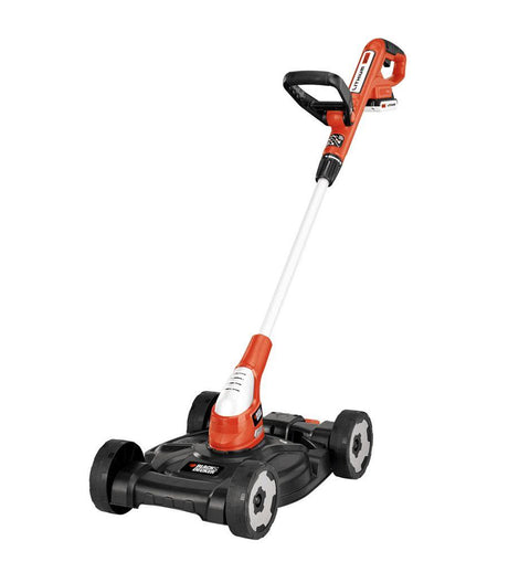 BLACK+DECKER 12 in. 20-Volt MAX Lithium-Ion Cordless 3-in-1 String Trimmer/Edger/Mower w/ (2) 2.0 Ah Batteries and Charger