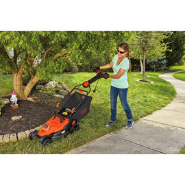 BLACK+DECKER 15 in. 10 Amp Corded Electric Walk Behind Lawn Mower