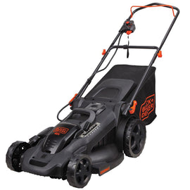 BLACK+DECKER 20 in. 40-Volt MAX Lithium-Ion Cordless Walk Behind Push Lawn Mower w/ (2) 2.0 Ah Batteries/Charger