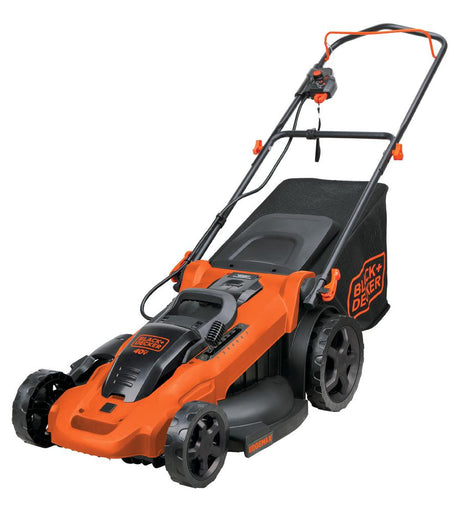 BLACK+DECKER 20 in. 40-Volt Max Lithium Ion Cordless Electric Walk Behind Push Mower w/ (2) 2.0Ah Batteries/Charger