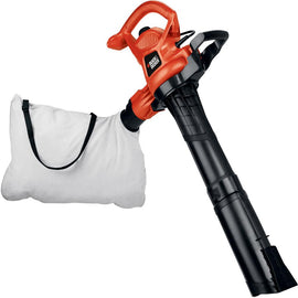 BLACK+DECKER 230 MPH 385 CFM 12-Amp Corded Electric 3-in-1 Handheld Leaf Blower/Vacuum/Mulcher