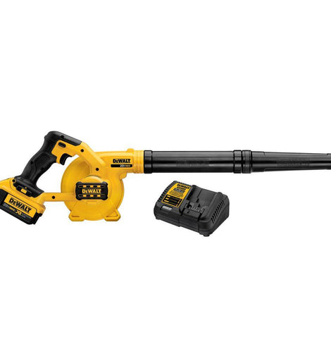 DEWALT 135 MPH 100 CFM 20-Volt MAX Lithium-Ion Cordless Blower Kit with Battery 4Ah and Charger