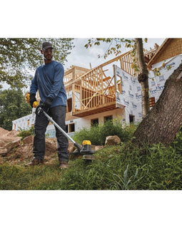 DEWALT 13 in. 20-Volt Max Lithium-Ion Cordless String Trimmer w/ (1) 4 Ah Battery and Charger