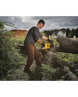 DEWALT FLEXVOLT 60-Volt MAX Cordless Lithium Ion Chainsaw with Blower Combo Kit (2-Tool) with 9.0 Ah Battery and Charger