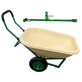 Dandux Loadumper 6 cu. ft. Wheelbarrow with Bonus Hitch