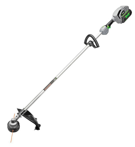 EGO 15 in. 56-Volt Lithium-Ion Cordless Electric Rear Motor String Trimmer, 5.0 Ah Battery and Charger Included