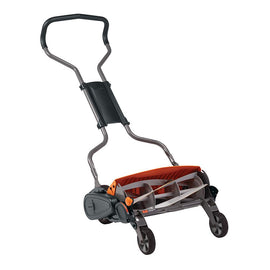 Fiskars 18 in. Cut Manual Push Non-Electric Walk Behind Reel Mower