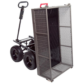 GORILLA CARTS 1,200 lb. Steel Multi-Use Dump Cart