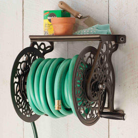 Hampton Bay Wall-Mounted Hose Reel