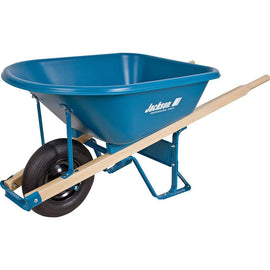 Jackson 5.75 cu. ft. Heavy Duty Corrosion-Proof Poly Wheelbarrow