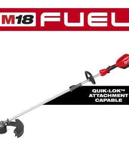 Milwaukee M18 FUEL 18-Volt Lithium-Ion Brushless Cordless QUIK-LOK String Trimmer and Blower Combo Kit (2-Tool)