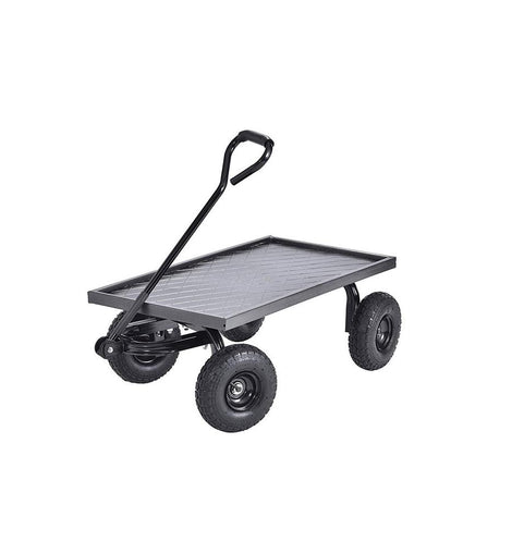 Muscle Rack 20 in. D x 38 in. W x 14.25 in. H Heavy-Duty Steel Garden Cart, 400 lb. Capacity