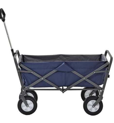 Muscle Rack 5 cu. ft. 19.75 in. W Folding Utility Cart. 150 lb. Capacity