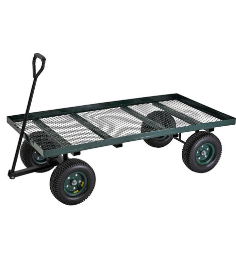 Muscle Rack 7 cu. ft. 36 in. W Utility Cart