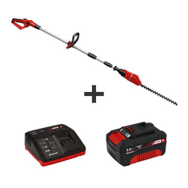 PXC 18 in. 18-Volt Cordless Telescoping Pole Hedge Trimmer Kit, 0.5 in. Cutting Dia. w/3.0 Ah Battery Plus Fast Charger
