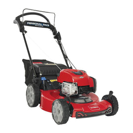 Recycler 22 in. Briggs and Stratton Personal Pace Electric Start, RWD Self Propelled Gas Walk-Behind Mower with Bagger