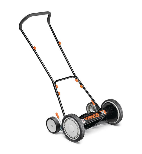 Remington 16 in. Manual Walk Behind Reel Lawn Mower with 9 Position Cutting Heights