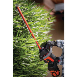 Remington 40-Volt Lithium-Ion Cordless Hedge Trimmer 2.5 Ah Battery and Charger Included