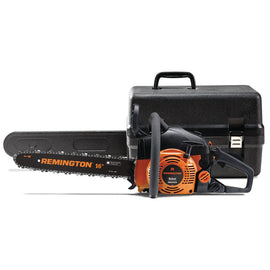 Remington Rebel 16 in. 42 cc 2-Cycle Gas Chainsaw with Automatic Chain Oiler and Heavy-Duty Carry Case Included