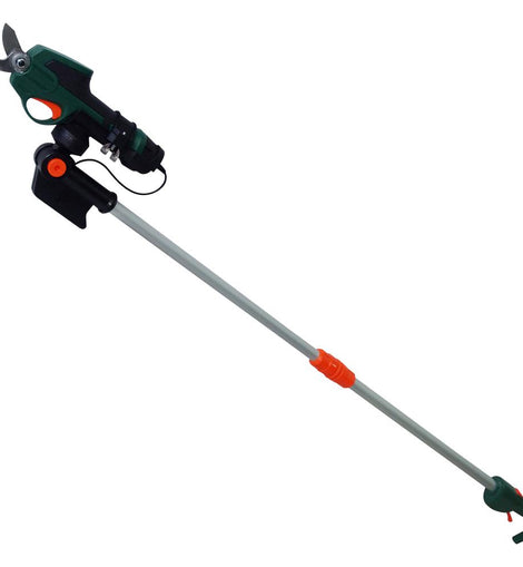 Scotts 7.2-Volt Electric Cordless Telescoping Pole Pruner - 2 Ah Battery and Charger Included