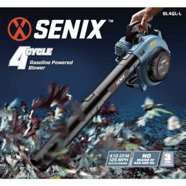 Senix 125 MPH 410 CFM 26.5 cc Gas 4-Cycle Handheld Blower