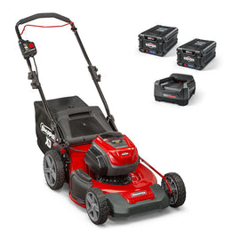 Snapper XD 82-Volt MAX Cordless Electric 21 in. Lawn Mower Kit with (2) 2.0 Batteries and (1) Rapid Charger