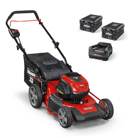 Snapper XD 82-Volt MAX Cordless Electric 19 in. Lawn Mower Kit with (2) 2.0 Batteries and (1) Rapid Charger