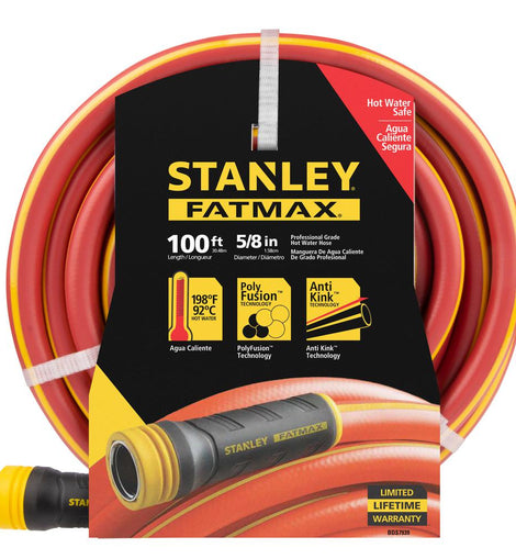 Stanley 100 ft. x 5/8 in. Polyfusion Hot Water Hose