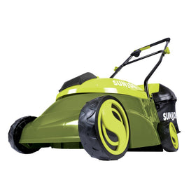 Sun Joe 14 in. 28-Volt Cordless Walk Behind Push Mower Kit with 4.0 Ah Battery + Charger