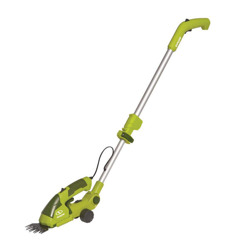 Sun Joe 7.2-Volt 2-in-1 Cordless Grass Shear and Hedge Trimmer with Extension Pole