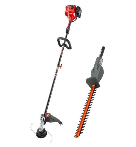 Toro 2-Cycle 25.4cc Attachment Capable Straight Shaft Gas String Trimmer with Hedge Trimmer Attachment