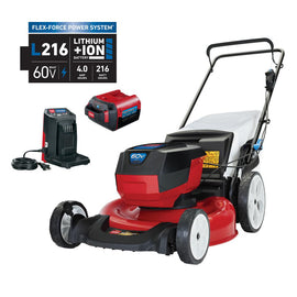 Toro Recycler 21 in. 60-Volt Lithium-Ion Cordless Battery Walk Behind Push Lawn Mower - 4.0 Ah Battery/Charger Included