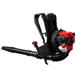 Troy-Bilt 145 MPH 445 CFM 2-Cycle 27cc Gas Backpack Leaf Blower with JumpStart Capabilities