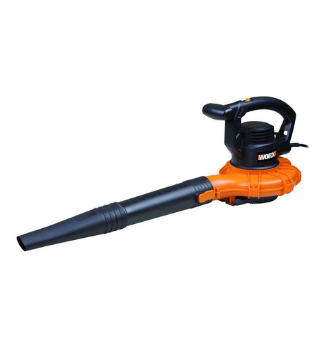 Worx 250 MPH 400 CFM 12-Amp Electric Corded Handheld 2 Speed Metal Impeller