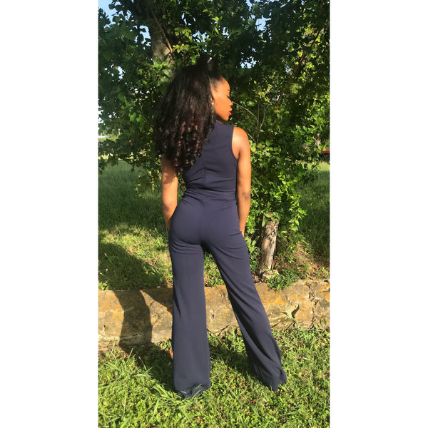 Tommie Color-Block Jumpsuit