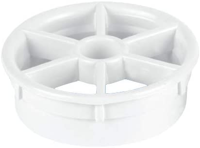 White Removable Shower Waste Grid Only Fits McAlpine Shower Traps STWGR-WH