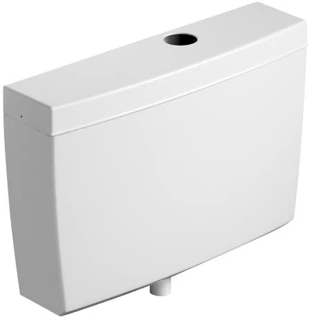 Armitage Shanks S621101 White Regal 9.0 Litre Urinal Cistern, Cover,