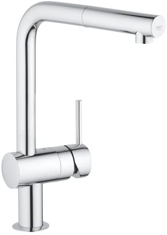 Grohe Minta 32168 000 Chrome 1/2 inch Sink Mixer