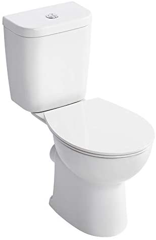 Armitage Shanks E822101 Sandringham 21 Smooth Close Coupled Toilet