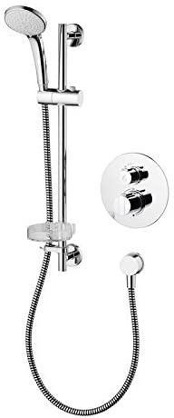 Ideal Standard A5958AA Chrome Concept Easybox Round Thermostatic