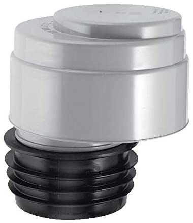 "McAlpine Push-FIT Connection AIR Admittance Valve -FITS 3"" & 4"" Soil Pipe VP100"