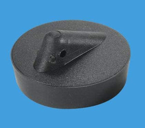 "McAlpine 1̴_"" Black PVC Plug BP4"