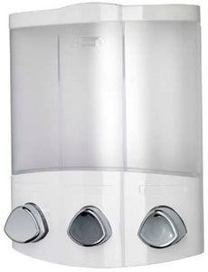 Croydex Euro Soap Dispenser Trio White
