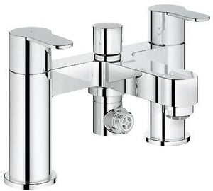 GROHE Eurosmart Cosmo Deck Mounted Bath/Shower Mixer, Low/High Pressure, 25129 000