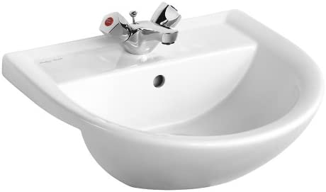 Armitage Shanks E895801 Sandringham 21 500mm 1 Taphole Semi-Countertop Washbasin