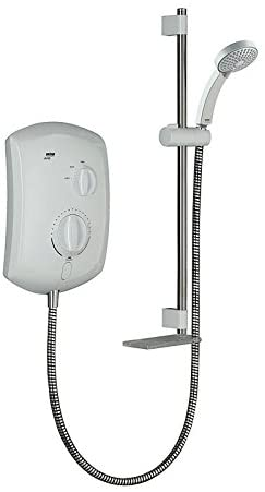 Mira Jump 9 5kw Electric Shower White Chrome 1 1788 011