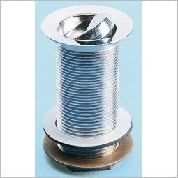 Ideal Standard S8734AA Chrome Unslotted Swivel Plug Waste with 80mm